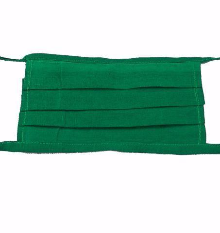 پارچه ماسک ترگال و کجراه آب ژاول ضد وایتکس خمی سبز بیمارستانی