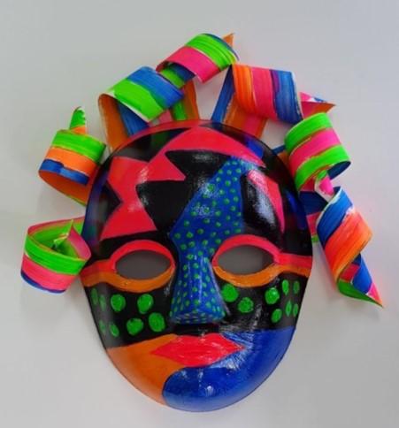 در سرتاسر جهان ، از نقاب ها برای قدرت بیانگر خود به عنوان ویژگی عملکرد نقاب دار استفاده می شود - هم به صورت منظم و هم در سنت های مختلف تئاتر. تعاریف آیینی و تئاتری در مورد استفاده از ماسک اغلب با هم همپوشانی دارند و ادغام می شوند ، اما هنوز زمینه ای مفید برای طبقه بندی فراهم می کند. تصویر ماسک های کمدی و تراژدی juxtaposed به طور گسترده ای برای نمایش هنرهای نمایشی و به ویژه درام استفاده می شود.